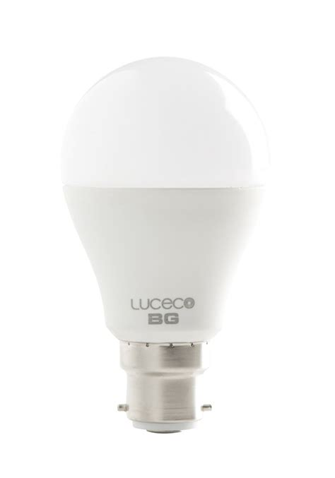 luceco a60 dimmable frosted classic led light bulbs ls