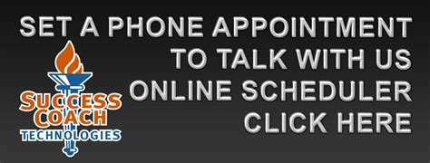 Sct Phone Appointment