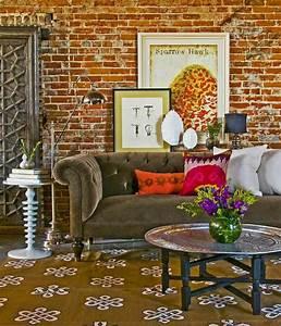 idee deco salle a manger salon pour tous les gouts With tapis de sol avec canape atelier