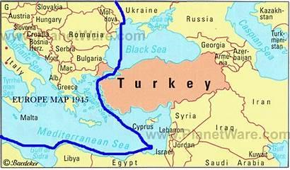 Map Asia Europe Border Turkey Line Russia