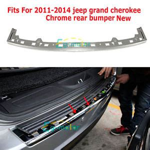 Rear Bumper Repair Estimate by 68111635aa Jeep Grand Replacement Rear Bumper