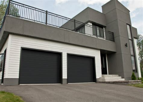 black garage doors how do you choose the right color for your garage door