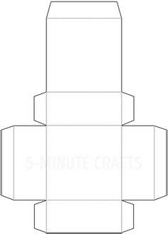 Lidded Box Template by Paper Box With Lid Template Square Box Template With Lid