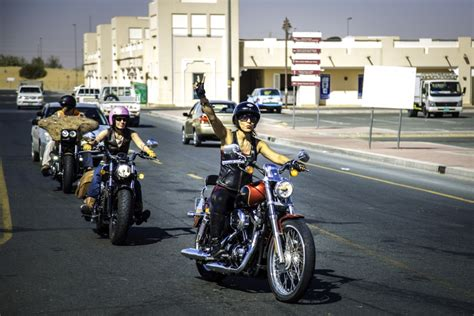 On Dubai's Roads, Women Hop On Harleys And Shatter