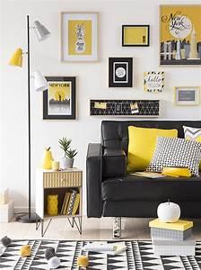 Tapis Jaune Maison Du Monde : tendance d co yellow summer maisons du monde projet ~ Zukunftsfamilie.com Idées de Décoration