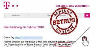 Telekom Rechnung Fake : trojanerwarnung ihre telekom festnetz rechnung februar ~ Themetempest.com Abrechnung
