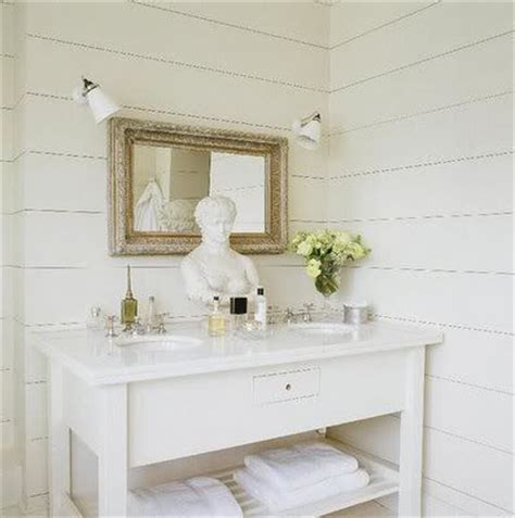 plank wall bathroom horizontal wide plank bead board home remodel pinterest wide plank and plank walls