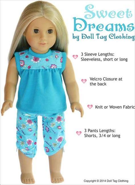doll tag clothing sweet dreams pj bundle doll clothes