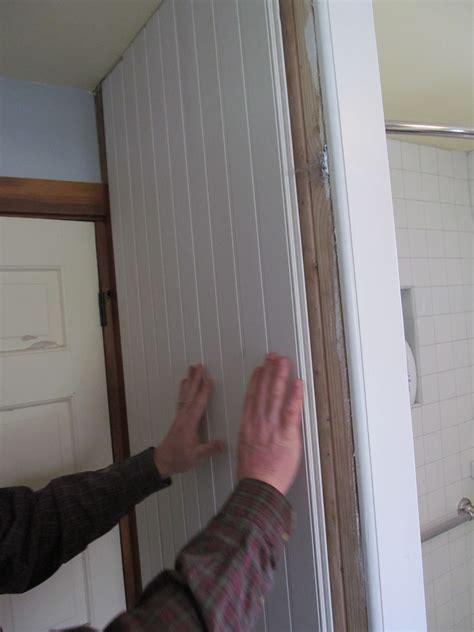 Exterior Design Installating Azek Beadboard On Bathroom