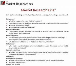 example market research brief top tips for writing a brief With marketing research brief template