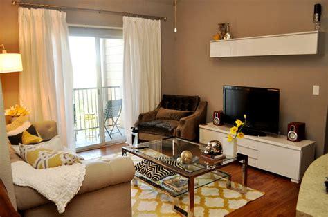 apartment makeover contemporary living room austin