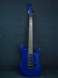 Fender Squier Stagemaster Blue Electric Guitar W   Floyd Rose Tremolo