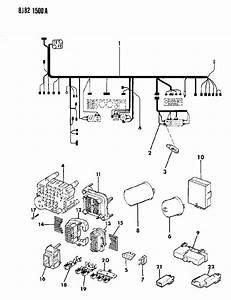 1987 Jeep Wagoneer Fuse Panel