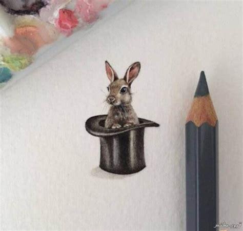 رسومات صغيرة تبدو وكأنها أشياء حقيقية