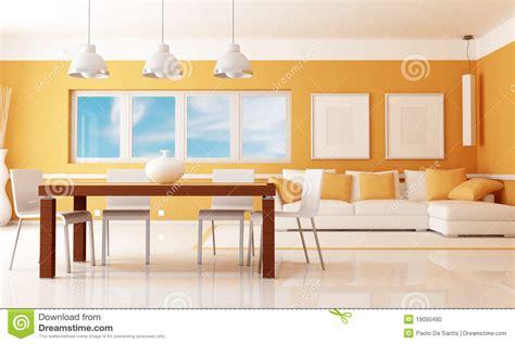 sala da pranzo moderna sala da pranzo moderna fotografia stock immagine 19090490