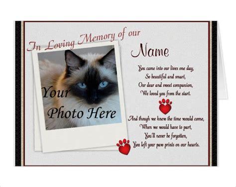 pet memorial card designs templates psd ai