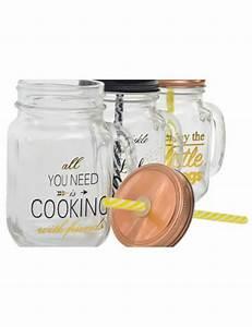 Bocal Avec Paille : distributeur de boisson en verre avec robinet ~ Teatrodelosmanantiales.com Idées de Décoration