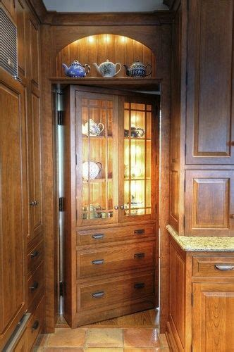 secret pantry door  kitchen home views pinterest