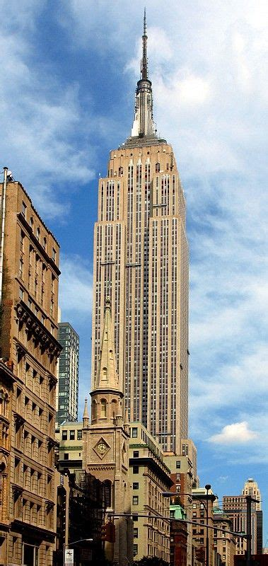 Empire State Building In New York By Shreve Lamb And Harmon
