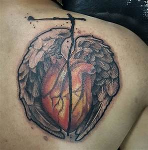 Cover Up Cross Designs 16 Heart With Wings Designs Ideas Design Trends