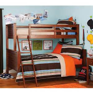 your zone bunk bed walnut walmart com