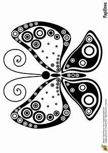 Dessin Facile Papillon : coloriage papillon simple sur ~ Melissatoandfro.com Idées de Décoration
