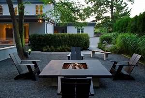 jardin moderne 5 tendances de lannee 2015 design With superb idee deco jardin gravier 3 29 idees pour integrer le gravier decoratif dans votre jardin