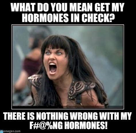 Hormone Memes - scream nothing wrong with my hormones on memegen