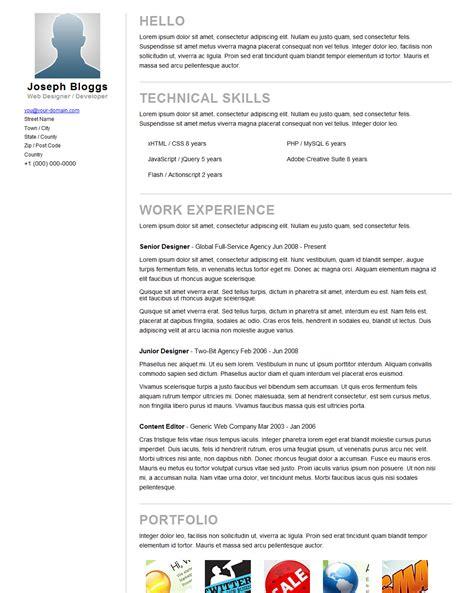 pinstripe premium resume cv template by pixelbuffet