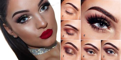 christmas makeup    fashions fashion beauty diy crafts alternative health