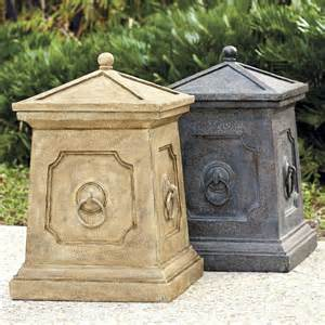 bradford outdoor trash can home exterior