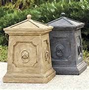Outdoor Trash Cans by Bradford Outdoor Trash Can Home Exterior Pinterest