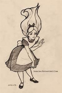 Sketch style (Alice) 14 by Shricka on DeviantArt