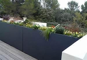 Espace ferronnerie atelier du sur mesure for Jardiniere exterieure en aluminium
