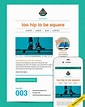 The perfect basic email template design - Emma Email ...