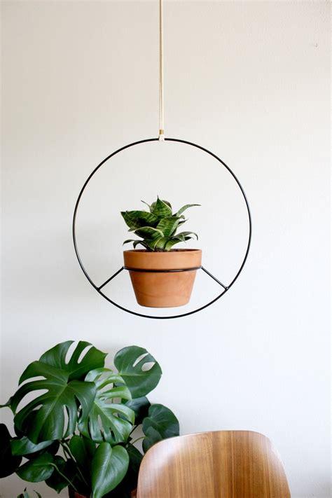 preorder black metal hanging planter metal plant hanger