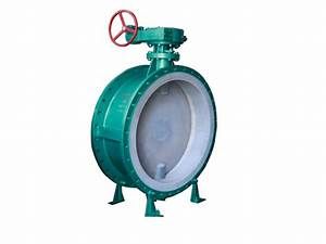 Fluorine Lined Butterfly Valve Pfa Lined Flange Type