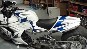 U0026quot Glacier U0026quot  A Custom Kawasaki Zx14