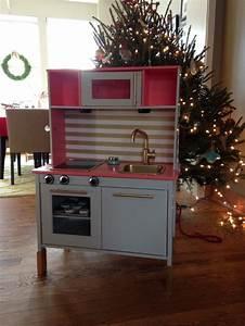 Ikea Duktig Rückwand : ikea duktig play kitchen hack emma xmas 2013 emma 39 s kitchen pinterest barnrum ~ Frokenaadalensverden.com Haus und Dekorationen