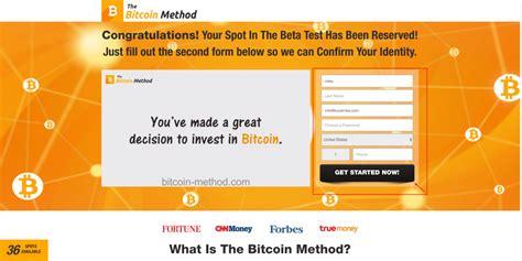 Ten en cuenta que no hace falta que compres como mínimo 1 bitcoin, puedes comprar menos de 1 bitcoin. ¿Bitcoin Method, una ESTAFA EXPUESTA?¡Probe la cuenta GRATIS!