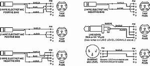3 Pin Xlr Microphone Wiring Diagram