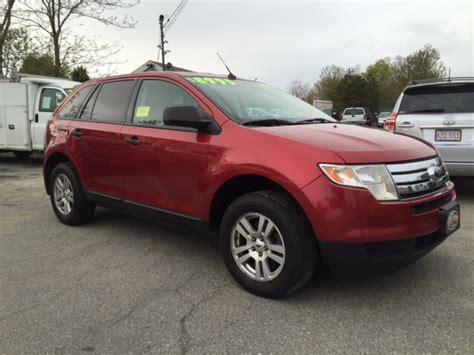 ford edge se awd dr suv  hyannis barnstable