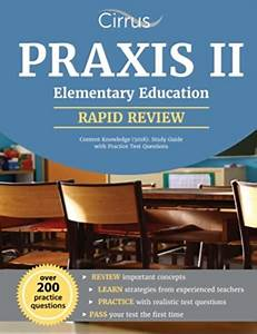 Practice Praxis Elementary Content Knowledge Test