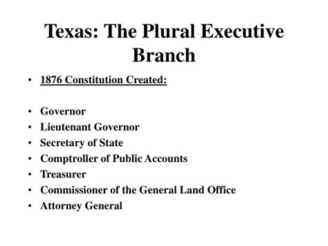 bureau plural ppt the plural executive branch powerpoint