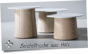 Beistelltische Holz : tolle beistelltische aus holz preiswert kaufen im online shop ~ Pilothousefishingboats.com Haus und Dekorationen