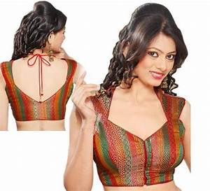 Latest Saree Blouse Back Designs 2018 For Women