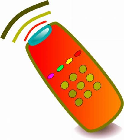 Clipart Remote Control Distant Clip Cartoon Tv