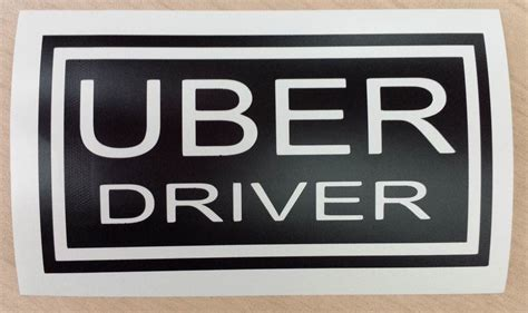 customizedpersonalized decal uber sign rideshare sticker