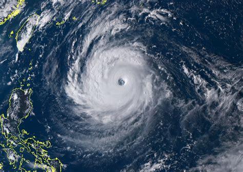 super typhoon trami explodes  strength     taiwan  washington post