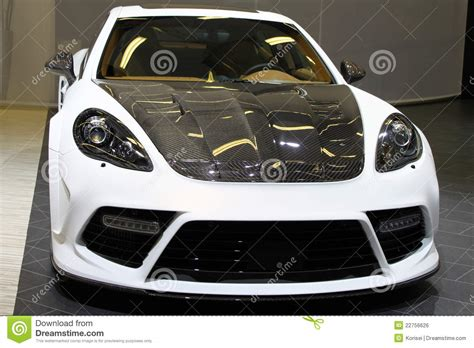 Custom Made Sports Car Stock Photo. Image Of Ultra, Style